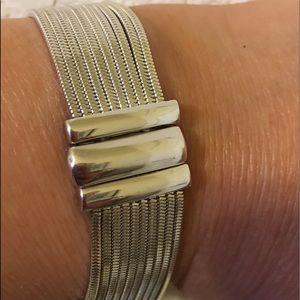 Jewelry - Sterling Silver Multi Snake Chain Bracelet